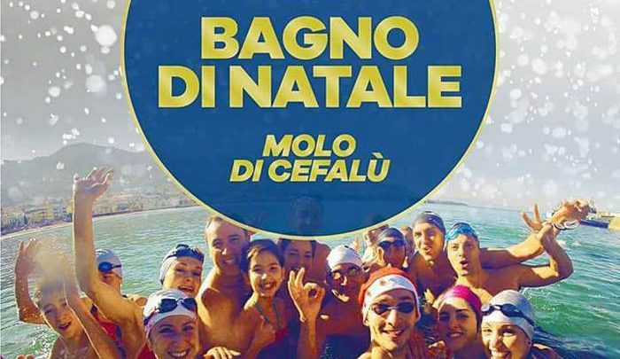 "Photo of Cefalù: ""Bagno di Natale 2017"""