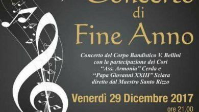 """Photo of Cerda, concerto di Fine Anno del complesso musicale """"V. Bellini"""""""