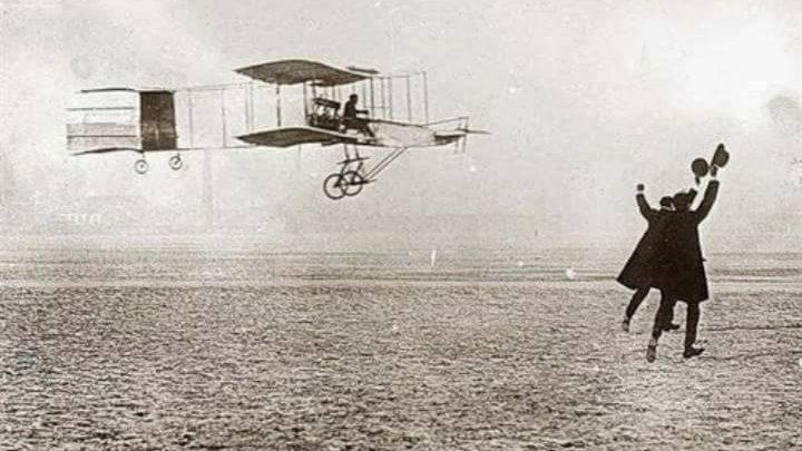 """Photo of A spasso nel tempo : """"Primo tentativo di volo di un mezzo nella storia"""""""