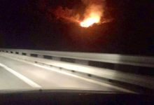 Photo of Trabia: Segnalato incendio in autostrada