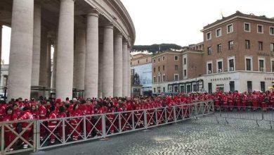 Photo of I volontari della CRI incontrano Papa Francesco