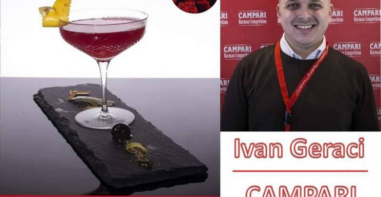 Photo of Un Montemaggiorese al Campari Barman Competition