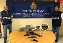 Photo of Palermo: Droga e Armi trovati in un appartamento, tre arresti