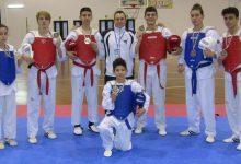 Photo of Gli atleti dell'A.S.D. L' Arte del Taekwondo sul podio al campionato Interregionale
