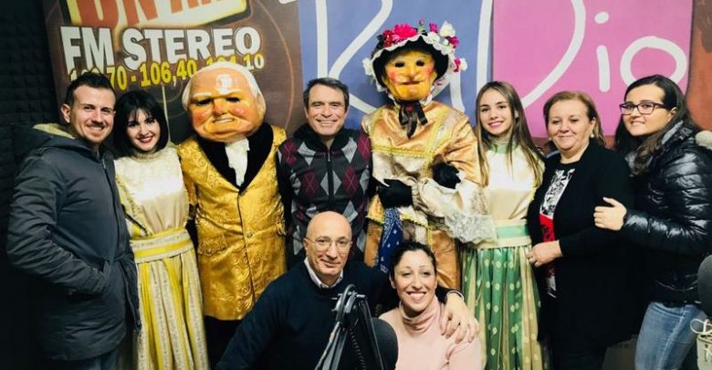 Photo of Carnevale Termitano 2018: I Nanni ospiti a Radio Panorama