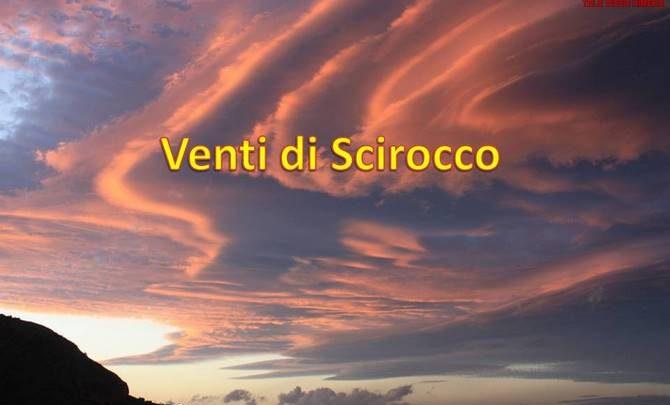 Photo of Meteo: Forte scirocco in arrivo nella giornata di Domenica