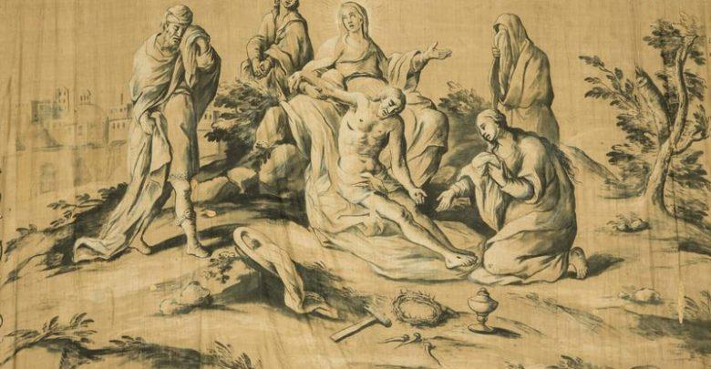 Photo of Telo Quaresimale del XVIII° secolo ritrovato a Montemaggiore Belsito