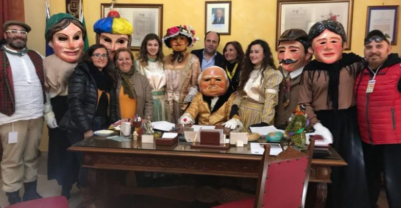 Photo of Carnevale Termitano 2018: I Nanni in visita a Trabia