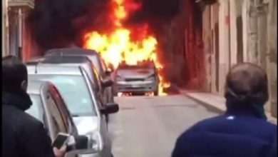 Photo of Gela: Auto in fiamme, panico tra i passanti