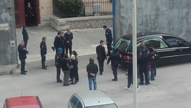 Photo of Termini Imerese: Picchetto d'onore per l'agente morto dentro il carcere