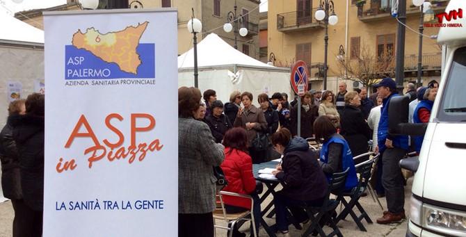 Photo of Trabia: Asp in Piazza il 17 Aprile