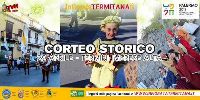 Photo of Infiorata Termitana 2018: Conferenza su Santi e Sante di Dio e Corteo Storico