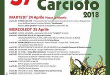Photo of Cerda, tutto pronto per la 37° Sagra del Carciofo