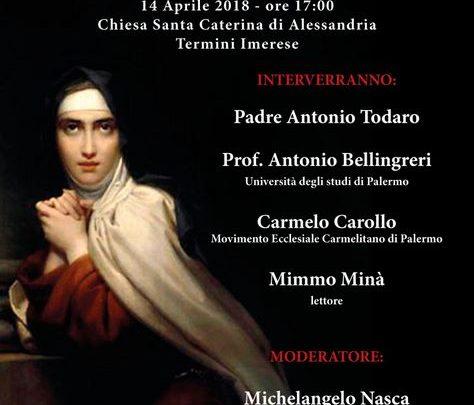 Photo of A Termini Imerese la Conferenza Ritratti di Santi