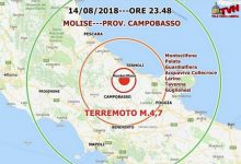 Photo of Terremono in Molise: La terra continua a tremare