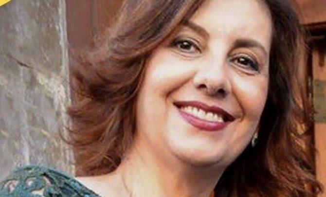 Photo of Antonella Campagna in commissione parlamentare antimafia