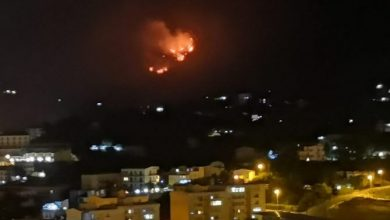 Photo of Termini Imerese: Incendio alle pendici del Monte San Calogero
