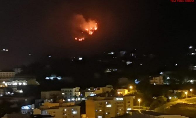 Photo of Termini Imerese: Incendio alle pendici del Monte San Calogero