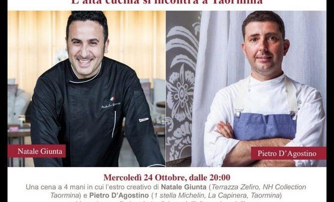 Photo of NH Collection Taormina: Natale Giunta e Pietro D'Agostino per una cena a 4 mani