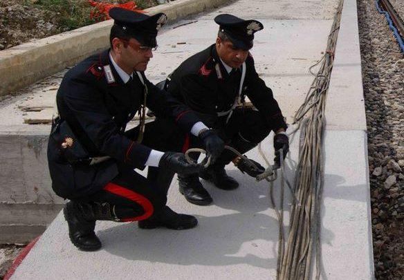 Photo of Termini Imerese: Eseguite tre misure cautelari per ricettazione di cavi di rame