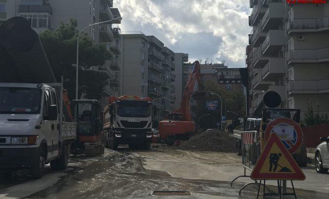 Photo of Termini Imerese: Lavori al collettore fognario nella zona alta della città