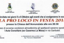 "Photo of Termini Imerese: ""Pro Loco"" in festa 2018"