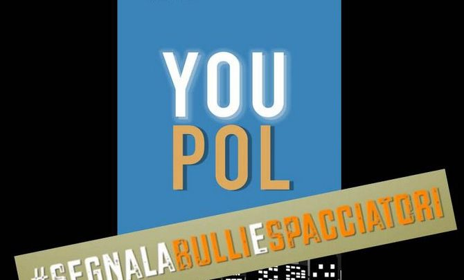 "Photo of La polizia, tramite l'App ""YOUPOL"", interrompe un episodio di spaccio su strada"