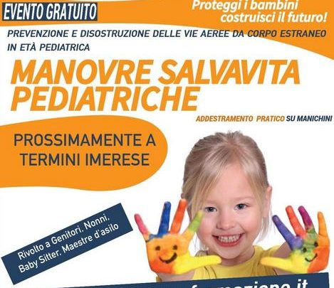 Photo of Manovre salvavita pediatriche, un corso gratuito a Termini Imerese