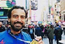 Photo of Alla maratona di New York Giuseppe Morando, 37 anni, odontoiatra di Trabia