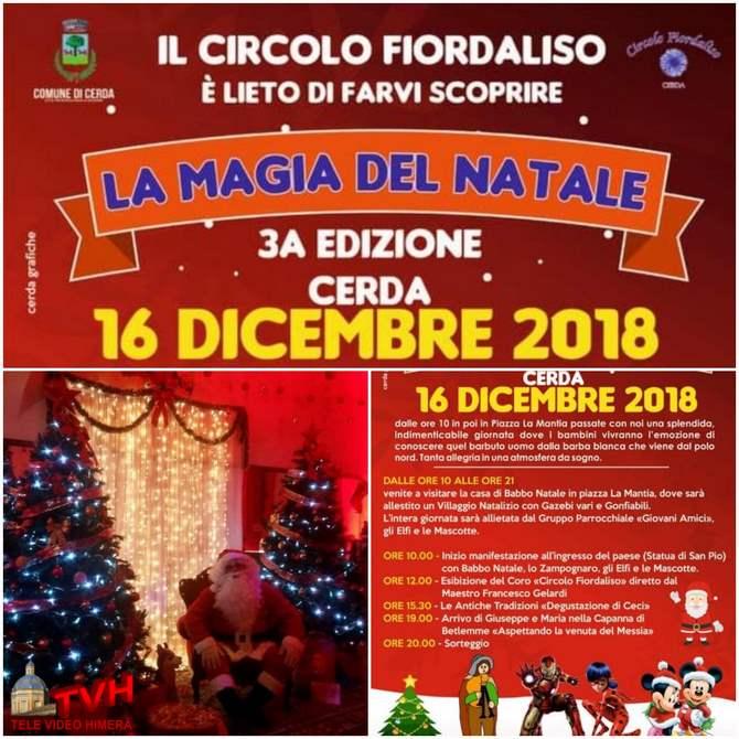 Immagini Antiche Del Natale.Cerda Iii Edizione De La Magia Del Natale A Cura Del