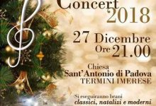 Photo of A Termini Imerese il Christmas Concert 2018 diretto dal M° Francesco D'Angelo