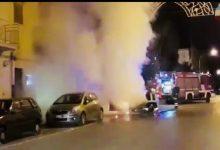 Photo of Termini Imerese: Auto in fiamme in pieno centro
