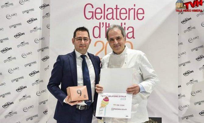 Photo of Sicilia: Il Maestro Gelatiere Antonio Cappadonia riceve i Tre Coni Gambero Rosso