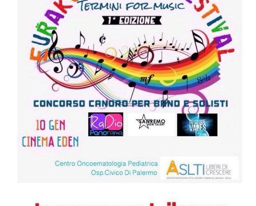 Photo of Termini Imerese: Il 10 Gennaio Eurakus Music Fest, il vincitore andrà a Sanremo