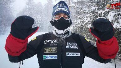 Photo of Sfida al freddo estremo: Storica impresa dell'atleta Fiamme Oro Paolo Venturini