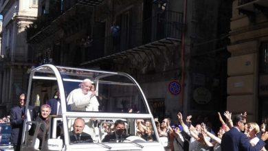 Photo of Palermo: L'Arcidiocesi da Papa Francesco per ringraziarlo della sua visita in Sicilia