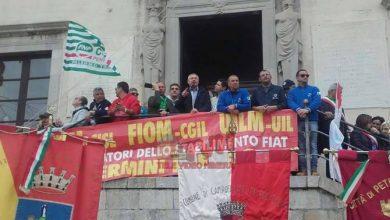 Photo of Ex Fiat/Blutec: Il corteo dei lavoratori a Termini Imerese