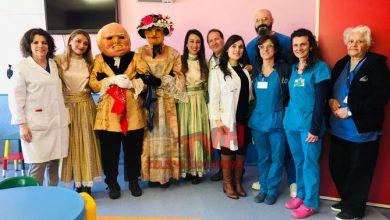 Photo of Carnevale Termitano 2019: I Nanni visitano il reparto Pediatria dell'Ospedale S. Cimino
