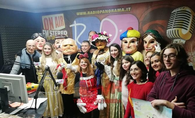 Photo of Carnevale Termitano 2019: U Nannu Ca Nanna ospiti a Radio Panorama
