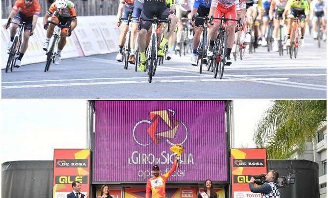Photo of Giro Di Sicilia: Riccardo Stacchiotti ha vinto in volata la prima tappa
