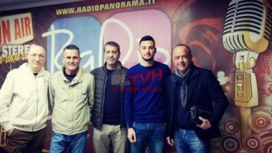 "Photo of Cerda: L'Asd. ""Giuseppe Macina"" in Prima Categoria, ospite a Radio Panorama"