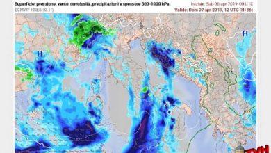 Photo of Meteo: In arrivo, da domani mattina, aria fredda di matrice Groenlandese