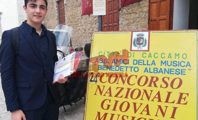 """Photo of Il clarinettista Giuseppe Geraci vince la sez. B del premio """"Benedetto Albanese"""""""
