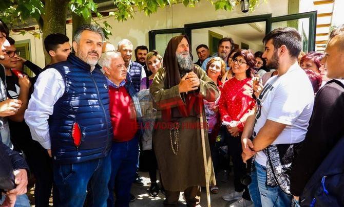 """Photo of La comunità di Cerda in visita alla Missione """"Speranza e Carità""""di Biagio Conte"""