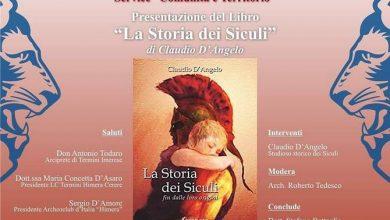 """Photo of Termini Imerese: Claudio D'Angelo, presenterà il libro """"La Storia dei Siculi"""""""