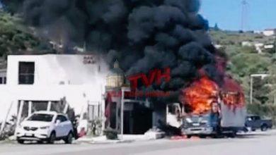 Photo of Termini Imerese: Camion prende fuoco nell'area Industriale