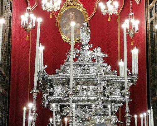 Photo of Palermo: Al via i festeggiamenti per il 395° Festino di Santa Rosalia