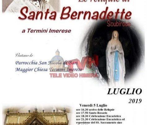 Photo of Termini Imerese: Le reliquie di Santa Bernadette Soubirous alla Maggior Chiesa
