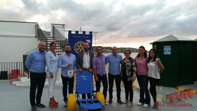 Photo of Termini Imerese: Il Rotary Club ha donato una carrozzina Job al Lido Vetrana