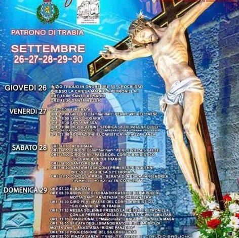 Photo of Trabia: Al via i Festeggiamenti in onore del Santissimo Crocifisso